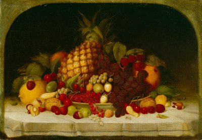 Robert S. Duncanson - Fruit Piece, 1849
