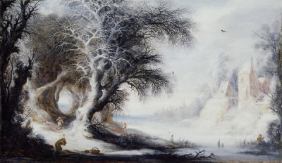 Gysbrecht Leytens - Winter Landscape, between 1600 and 1650