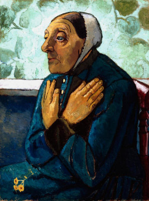 Paula Modersohn-Becker - Old Peasant Woman, ca. 1905