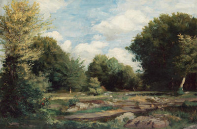 Pierre-Auguste Renoir - Clearing in the Woods, 1865
