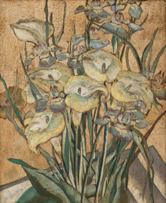 Maria Oakey Dewing - Irises and Calla Lilies, between ca. 1890 and 1905