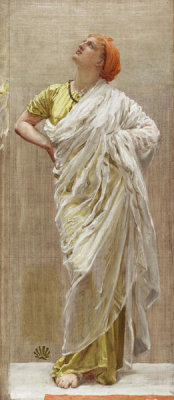 Albert Joseph Moore - Study for Birds, 1878