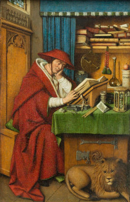 Jan van Eyck - Saint Jerome in His Study, ca. 1435