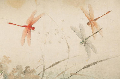 Qian Xuan - Early Autumn (detail), late 13th-14th century