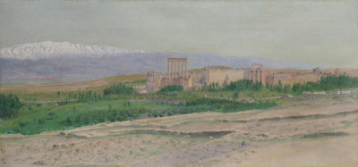Frederic Edwin Church - View of Baalbek, 1868