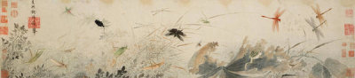 Qian Xuan (attributed to) - Early Autumn (detail), late 13th-14th century