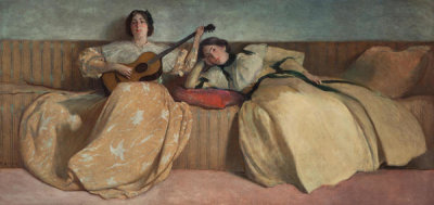 John White Alexander - Panel for Music Room, 1894