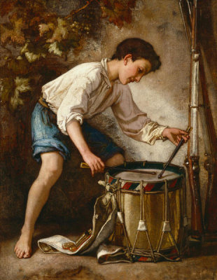 Thomas Couture - Drummer Boy, 1857