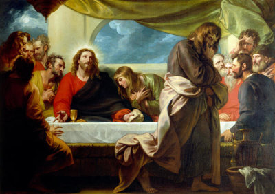 Benjamin West - The Last Supper, 1786