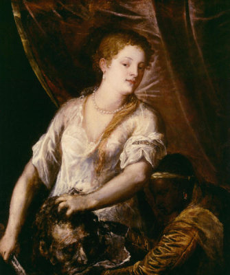 Titian - Judith and Her Maidservant with the Head of Holofernes, ca. 1570