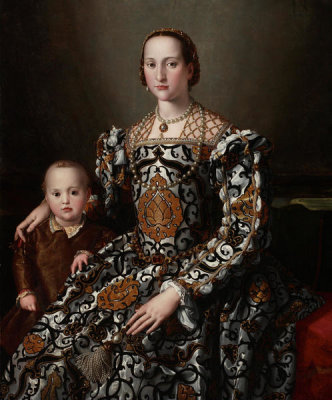 Agnolo Bronzino - Eleonora of Toledo and Her Son, between 1545 and 1550