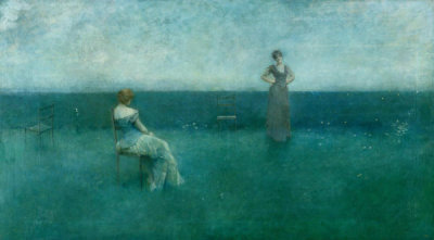 Thomas Wilmer Dewing - The Recitation, 1891