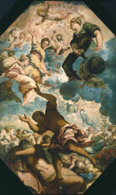 Tintoretto - The Dreams of Men, mid-16th century